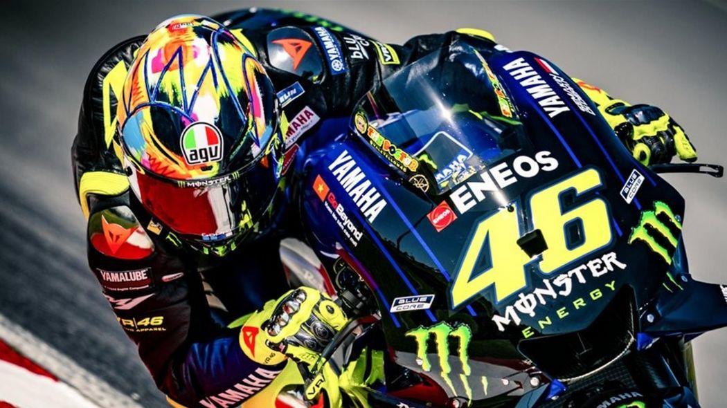 Calendario Valentino Rossi 2020.Motogp Test Brno Valentino Rossi E Maverick Vinales