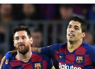 Messi resta e Suarez
