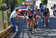 Nibali durante il Giro di Lombardia