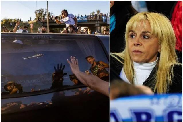Claudia Vilifane ex moglie di Maradona