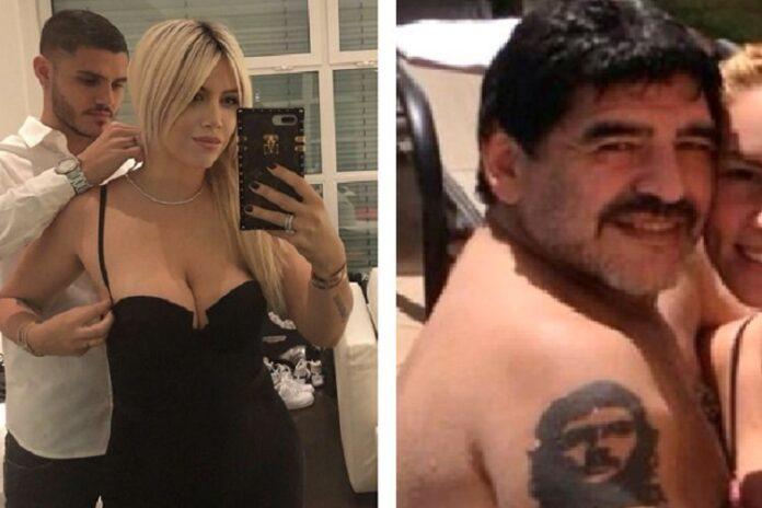 Maradona Wanda Nara