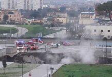 Ospedale del Mare esplosione