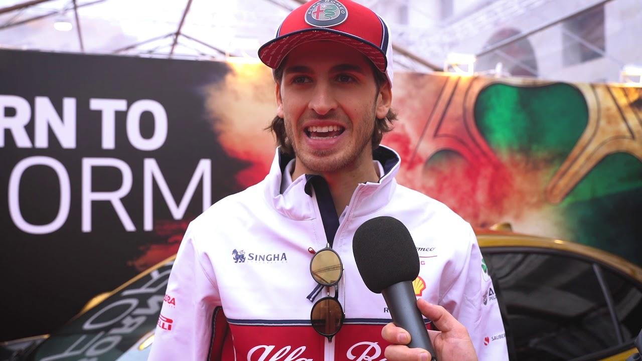 Antonio Giovinazzi Intervista