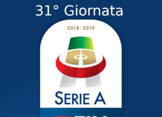 Serie A, 31esima giornata
