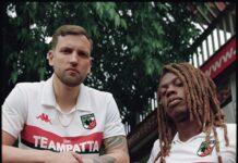 Patta e Kappa maglia del Milan 88-89