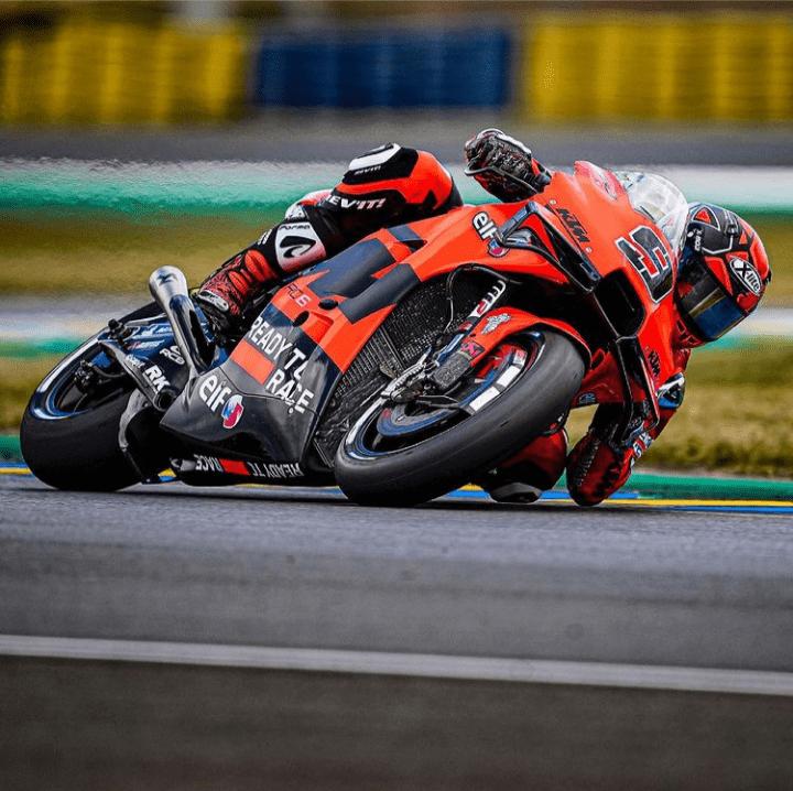 MotoGP warm up