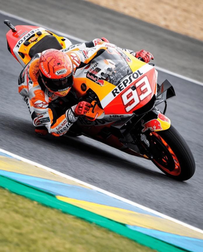 MotoGP Le Mans Marquez