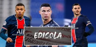 Mbappe, Cristiano Ronaldo, Icardi
