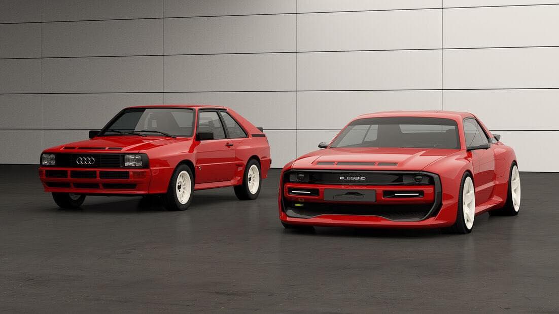 Audi Sport Quattro elettrica