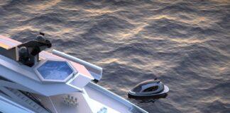 Superyacht porto a bordo