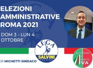 Federico Albani candidato IV Municipio
